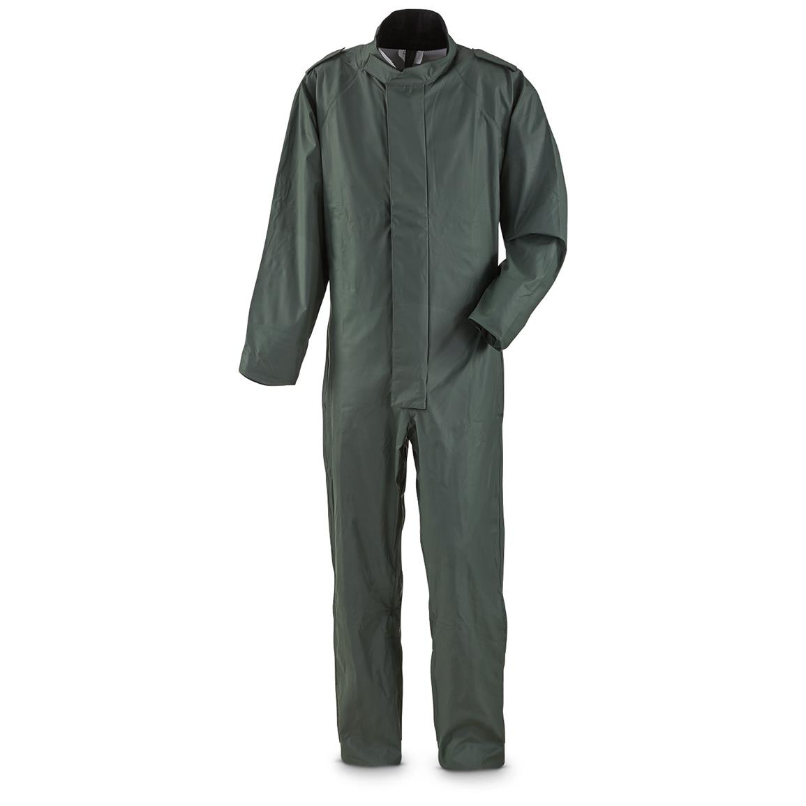 Belgian Military Issue Waterproof Coveralls, New