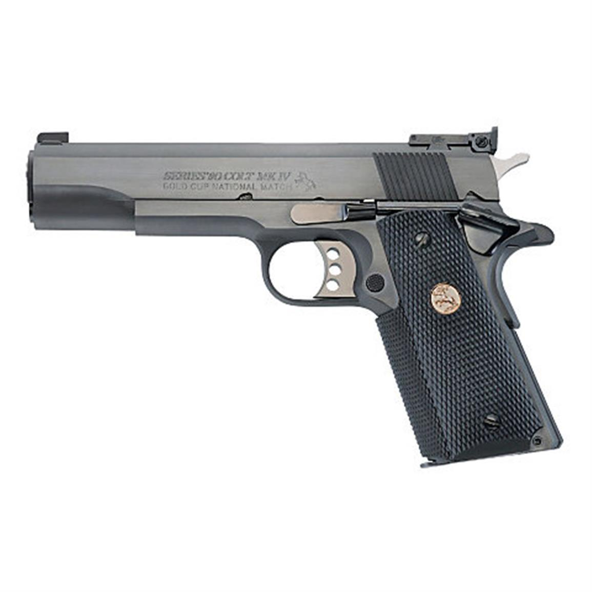 Colt Gold Cup National Match, Semi-automatic, .45 ACP, O5870NM, 098289042439