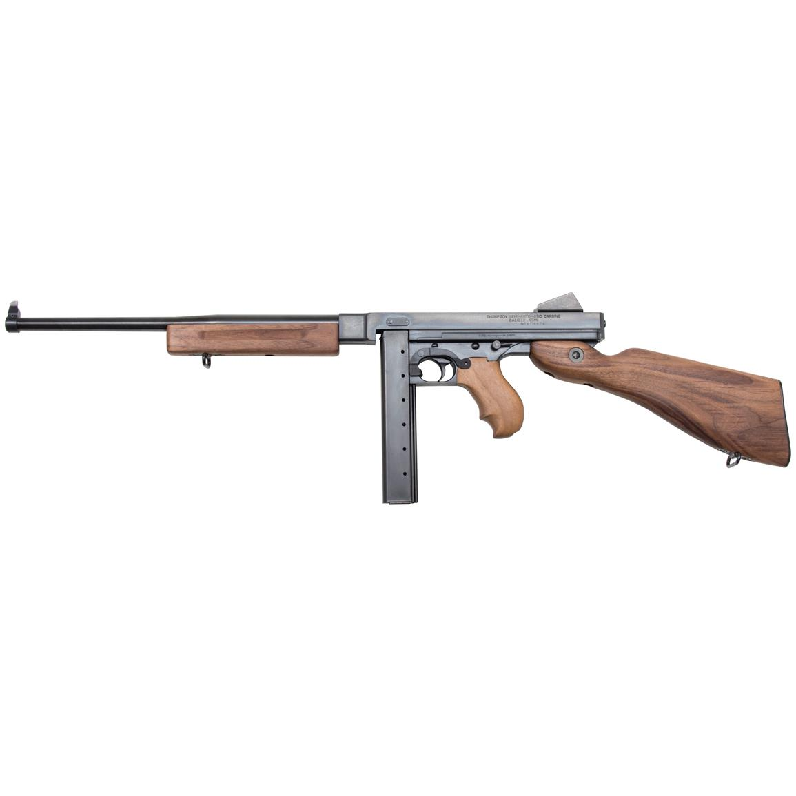 "Auto-Ordnance Thompson M1, Semi-Automatic, .45 ACP, 16.5"" Barrel, 30+1 Rounds"