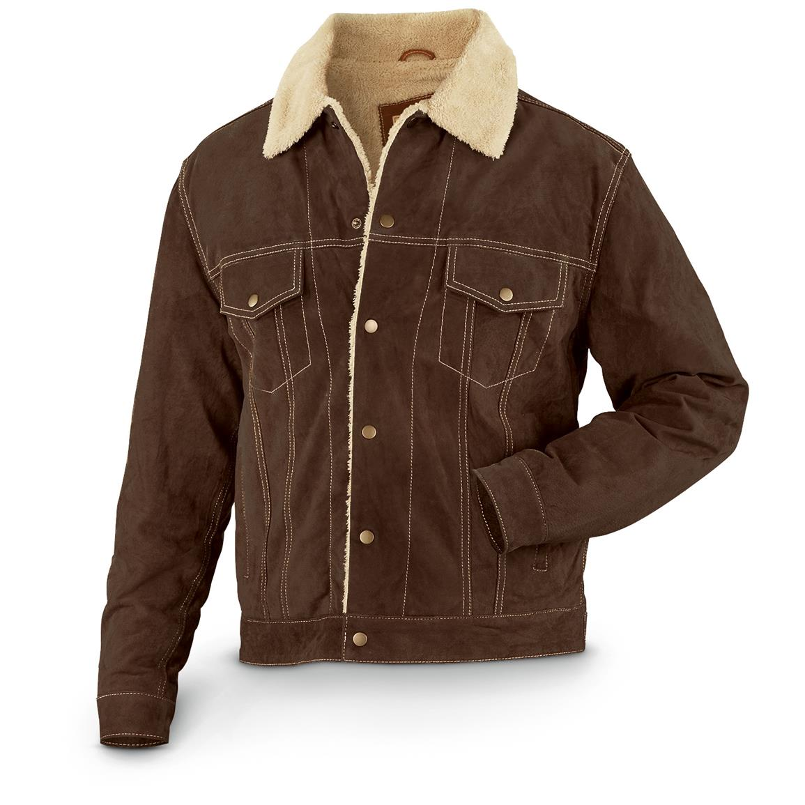 Scully 113 Suede Jacket, Chocolate