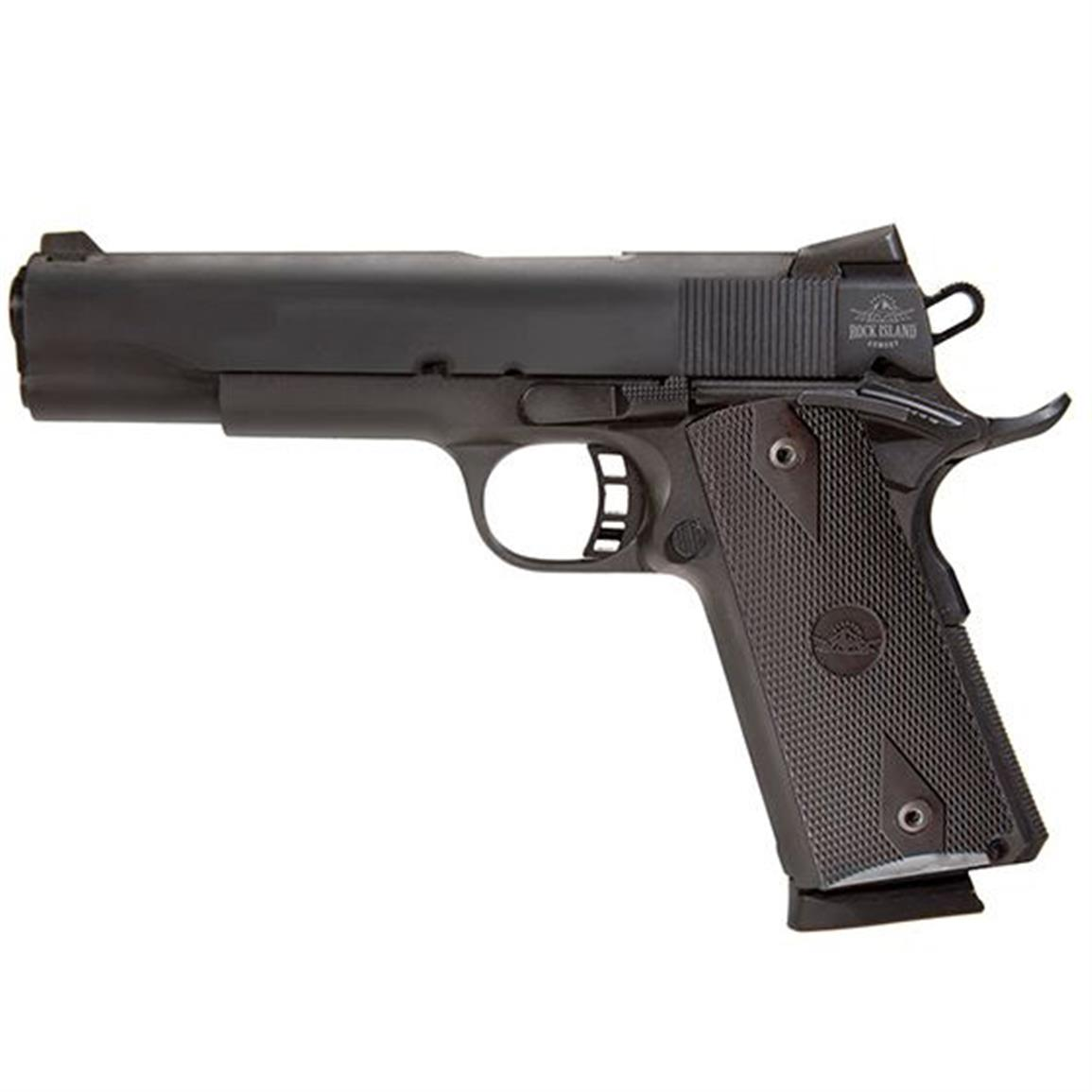 "Rock Island Armory 1911 Tactical Full Size, Semi-Automatic, .45 ACP, 5"" Barrel,  8 Rounds"