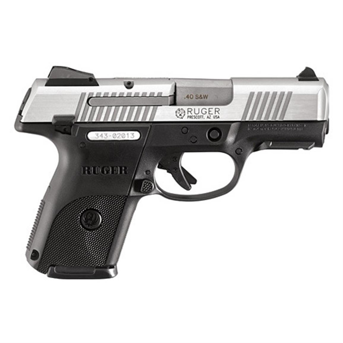 "Ruger SR40c, Semi-Automatic, .40 Smith & Wesson, 3.5"" Barrel, 9+1 Rounds"