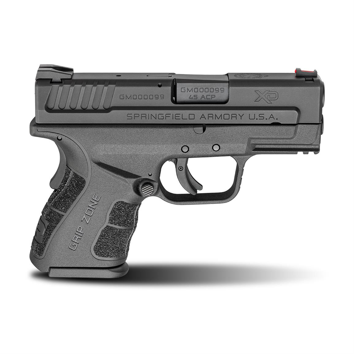 "Springfield XD Mod.2 Sub-Compact, Semi-Automatic, .45 ACP, 3.3"" Barrel, 9+1/13+1 Rounds"