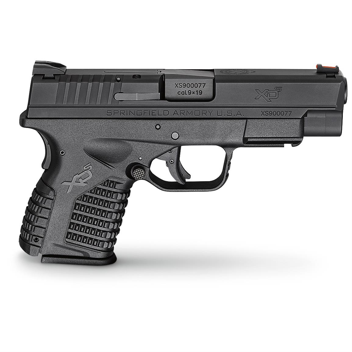 "Springfield XD-S Single Stack, Semi-automatic, 9mm, XDS9409BE, 706397899912, 4"" Barrel, with Essentials Package"