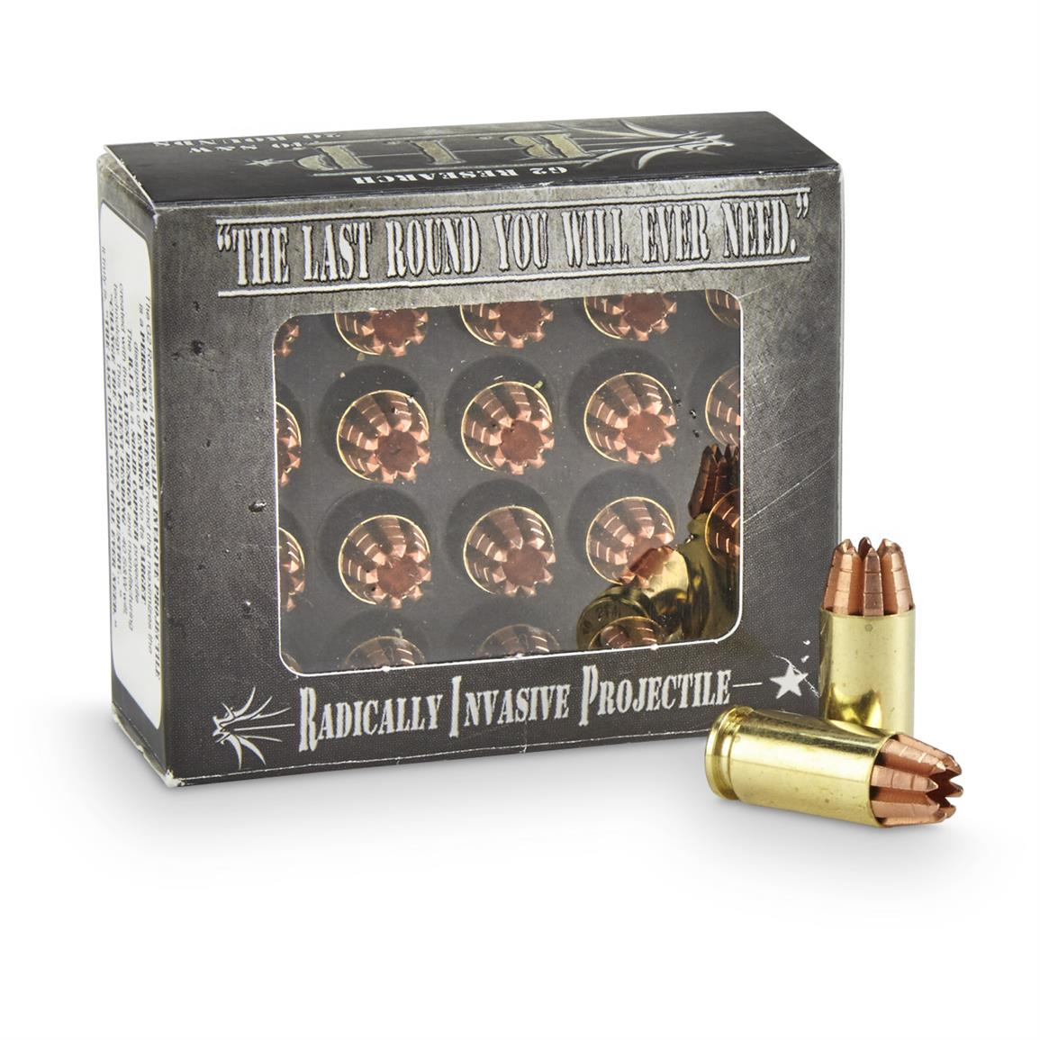 G2 Research RIP, .40 S&W, HP Lead-Free, 115 Grain, 20 Rounds
