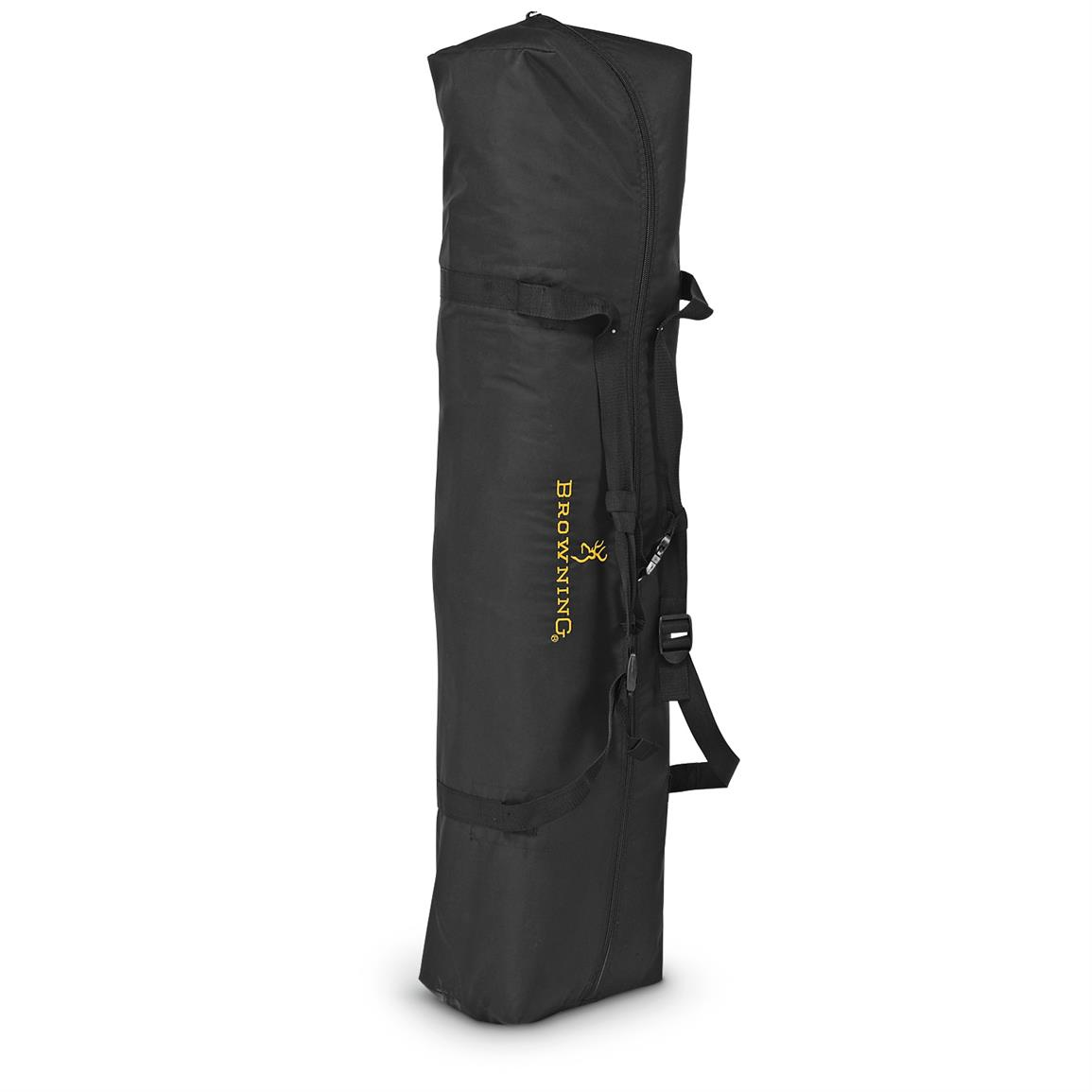 Includes custom carry bag with padded shoulder straps