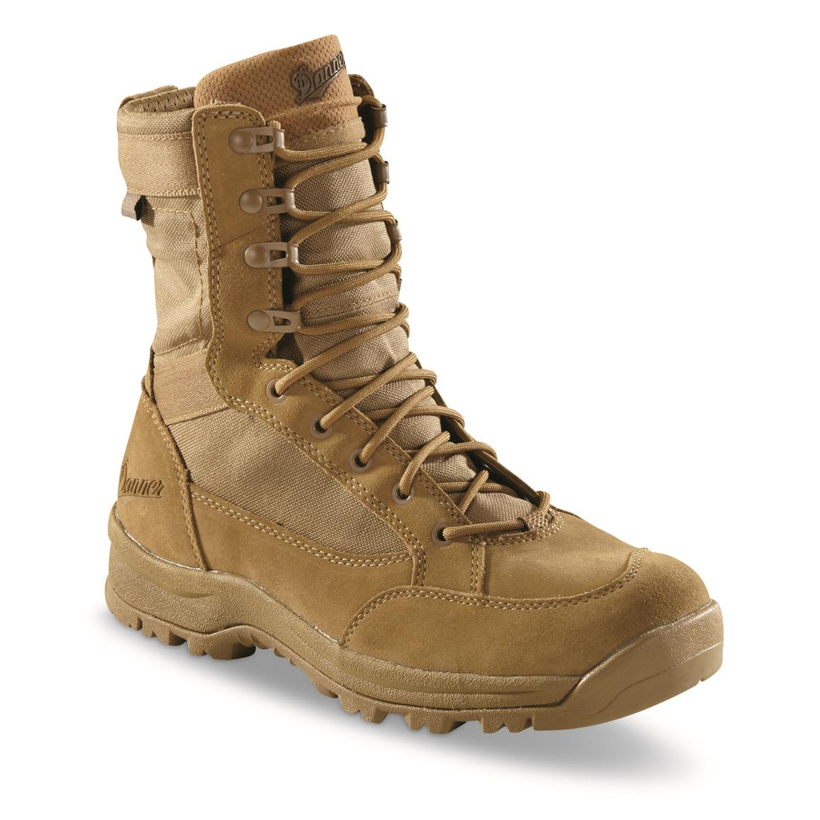 Danner Men's Tanicus Tactical Waterproof Desert Boots, Mojave