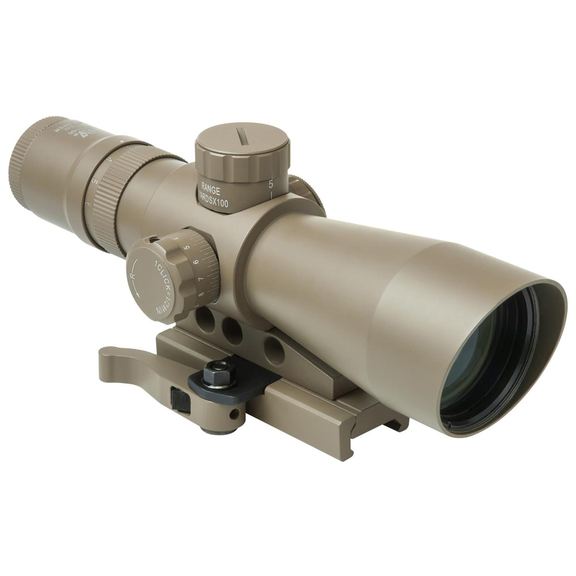 NcSTAR Mark III 3-9x42 Rifle Scope