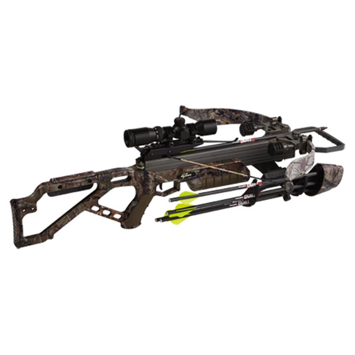 Excalibur Micro 335 Recurve Crossbow Package, Realtree Xtra