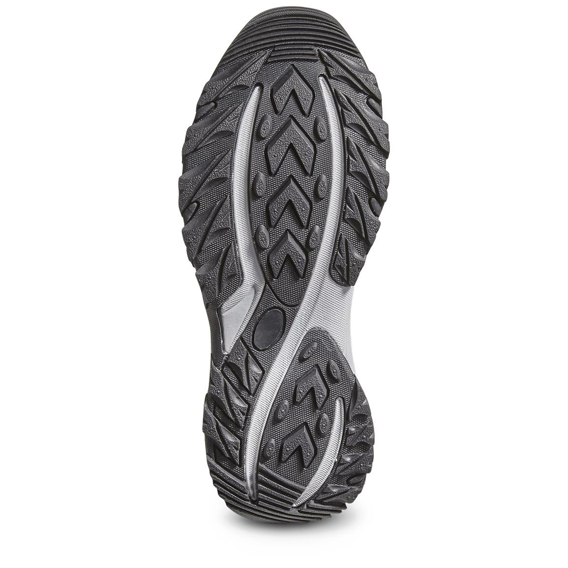 Traction-ready rubber outsole