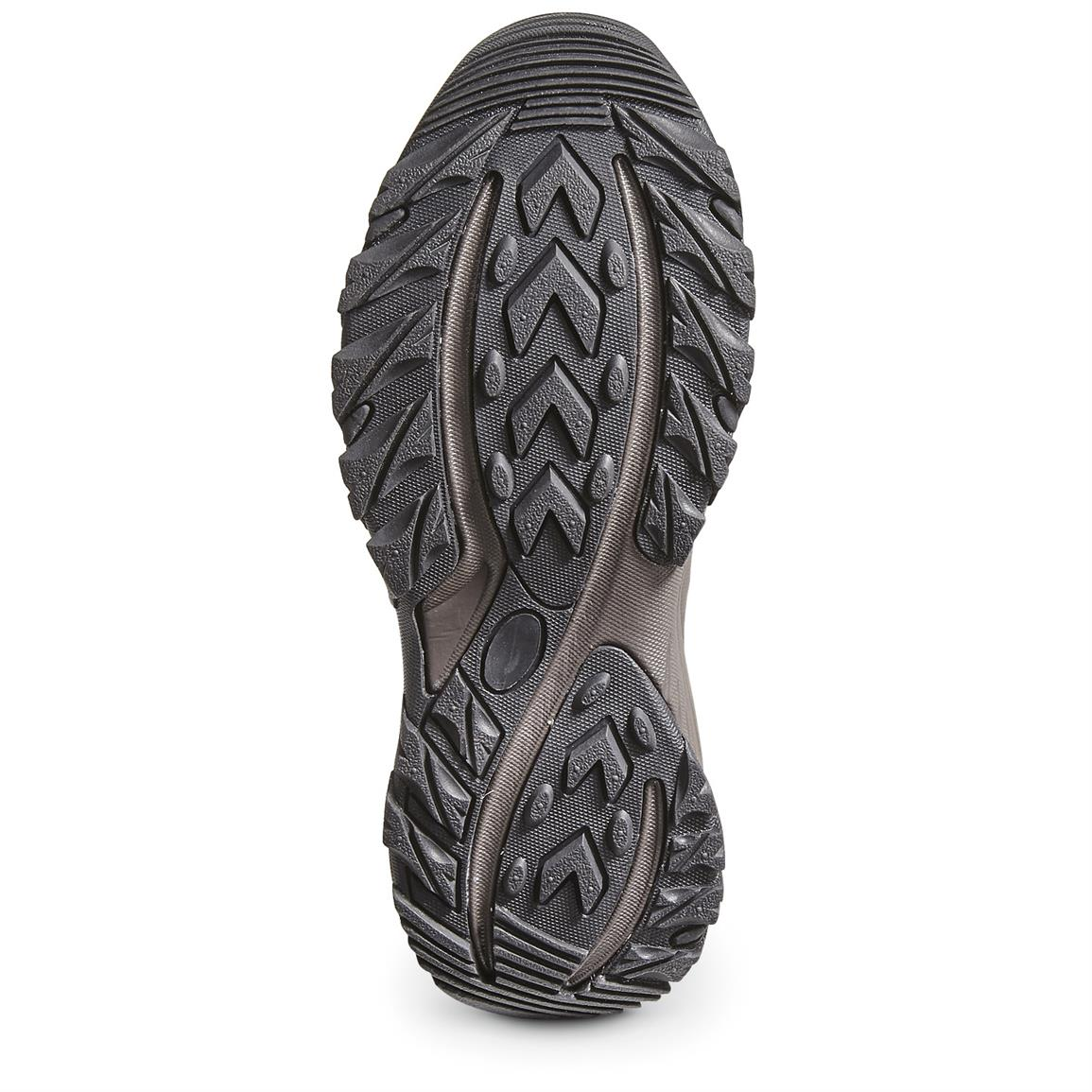 Features a more durable outsole for indoors or out