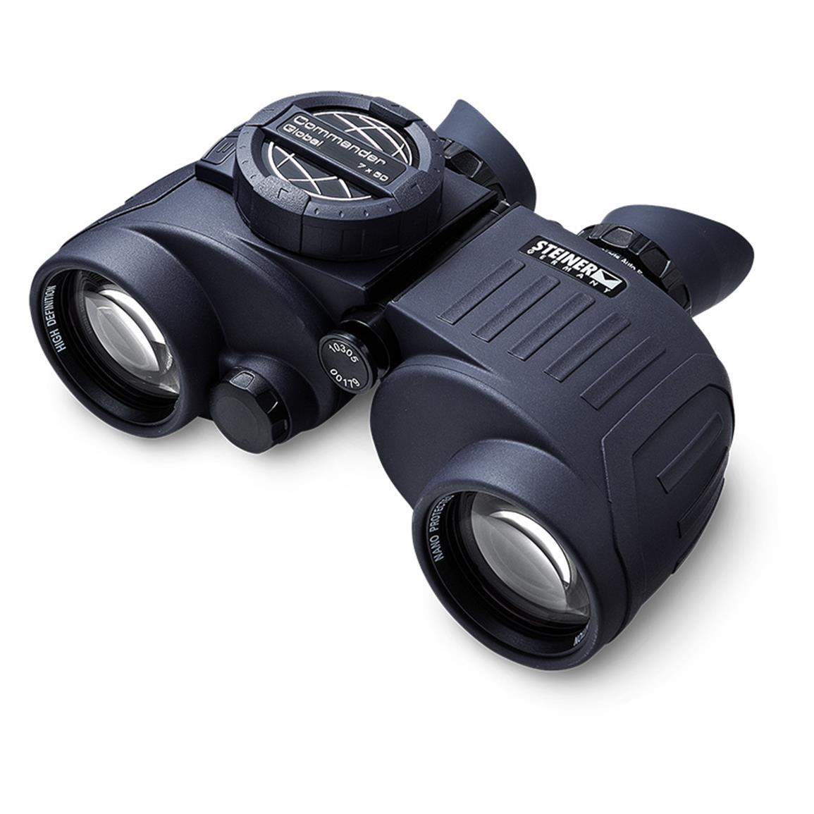 Steiner Commander Global 7x50 Marine Binoculars with Compass