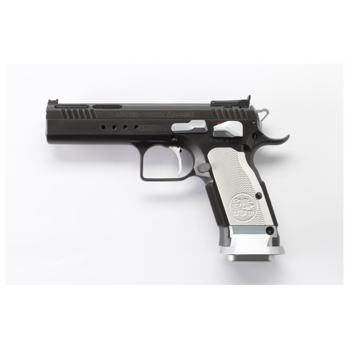 "EAA Tanfoglio Witness Limited Custom Xtreme, Semi-automatic, 9mm, 4.75"" Barrel, 17+1 Rounds"