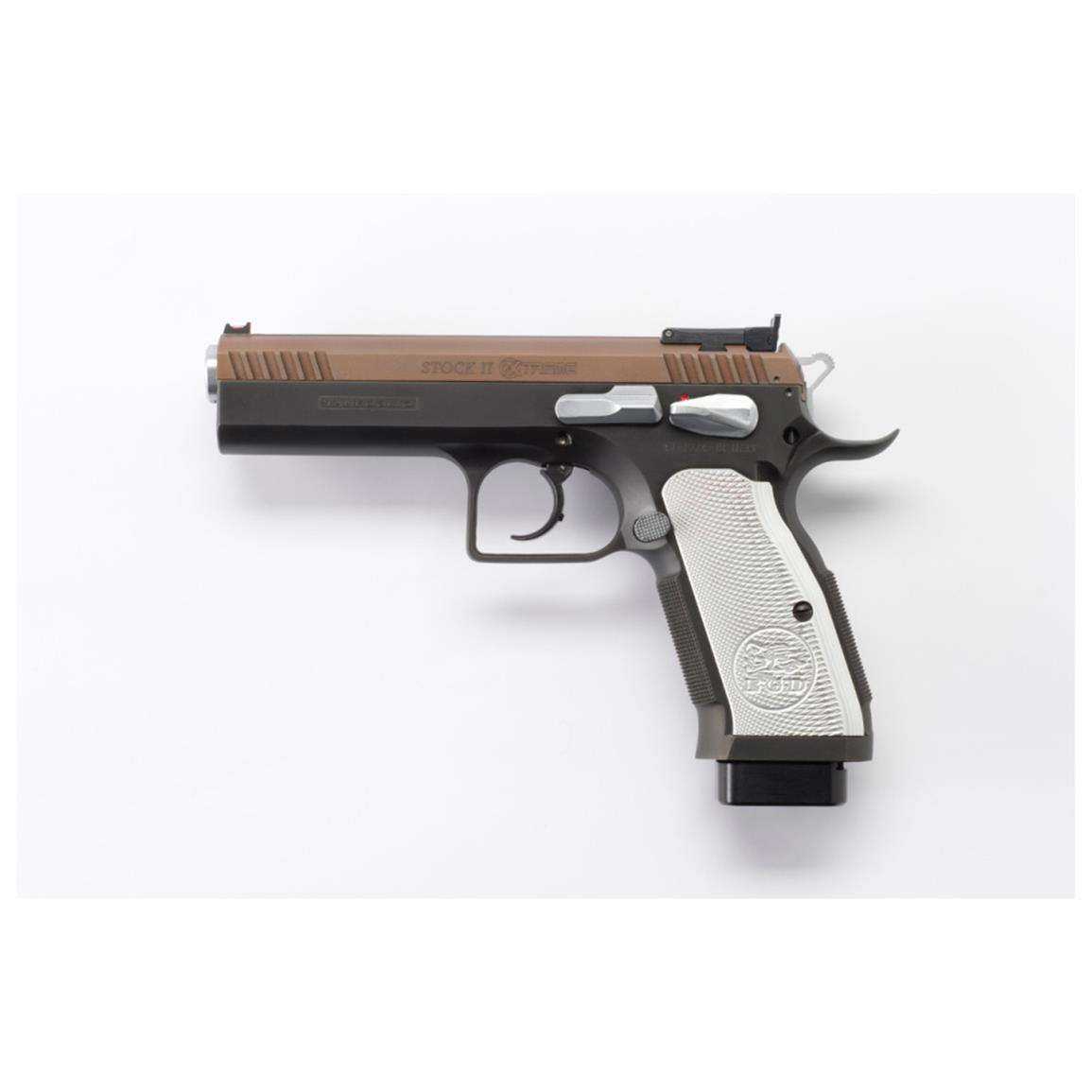 "EAA Tanfoglio Witness Stock II Xtreme, Semi-Automatic, .40 S&W, 4.5"" Barrel, 14+1 Rounds"