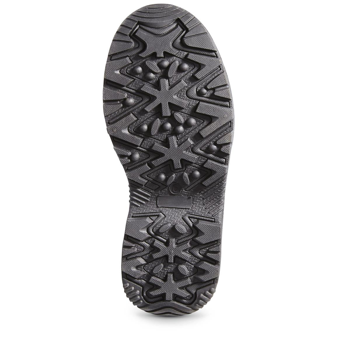 Sure-grip rubber outsole
