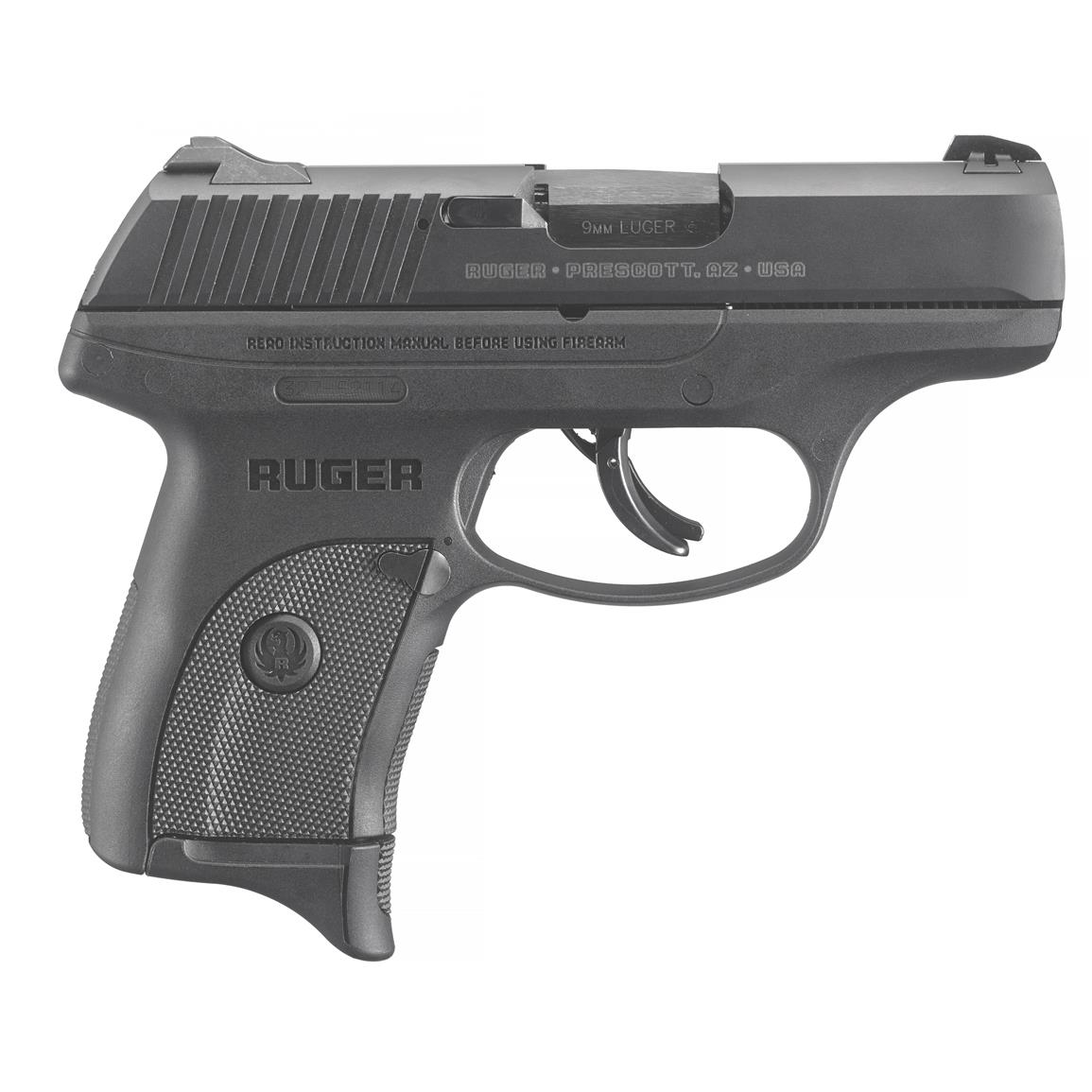 "Ruger LC9s Pro, Semi-Automatic, 9mm, 3.12"" Barrel, Integrated Trigger Safety, 7+1 Rounds"