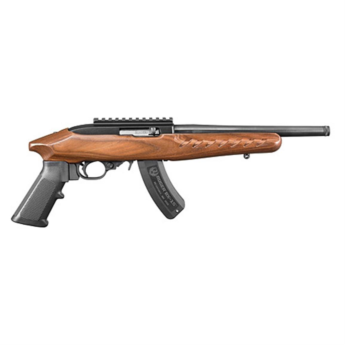 "Ruger 22 Charger, Semi-Automatic, .22LR, Rimfire, 10"" Barrel, 15 Rounds"
