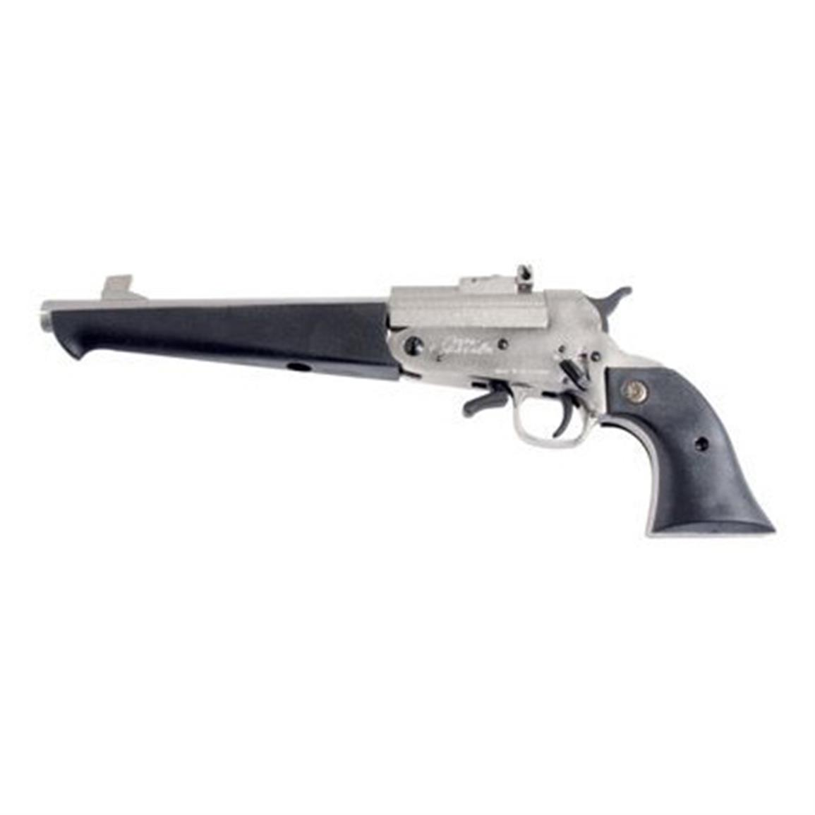 Comanche Super Comanche Long Barrel, Single Shot, .410 Bore, SCP60000, Satin Nickel Finish