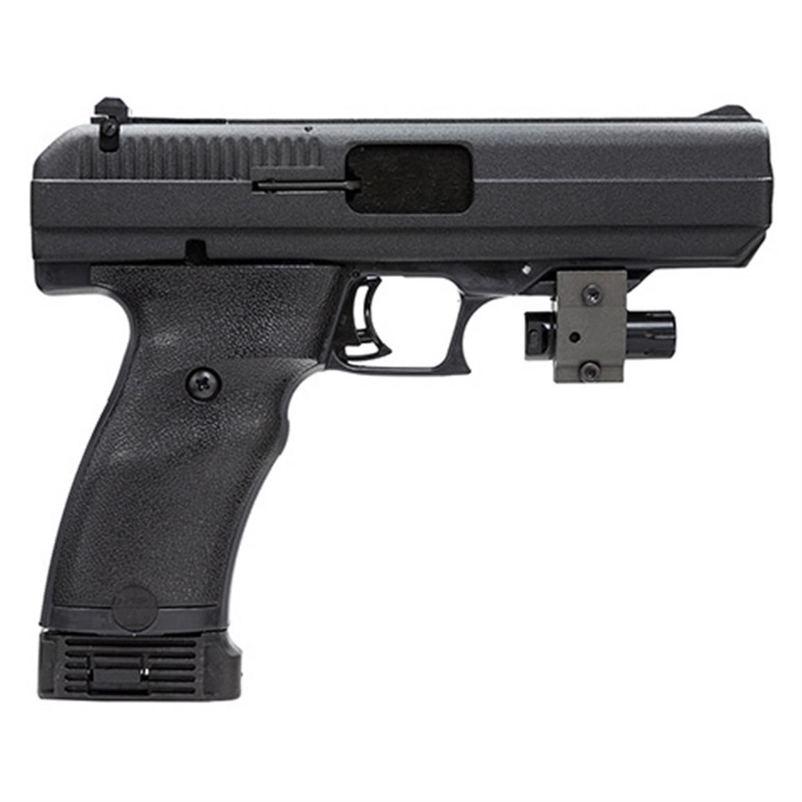 Hi-Point 40SW-B, Semi-automatic, .40 Smith & Wesson, 34011L, 752334340115, 4.5 inch Barrel Laser Sight,  10-round
