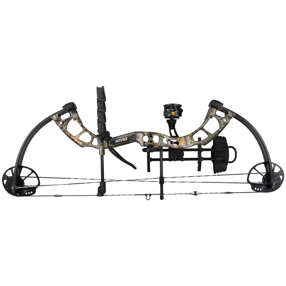 Bear Archery Cruzer Ready to Hunt Compound Bow, Realtree All Purpose