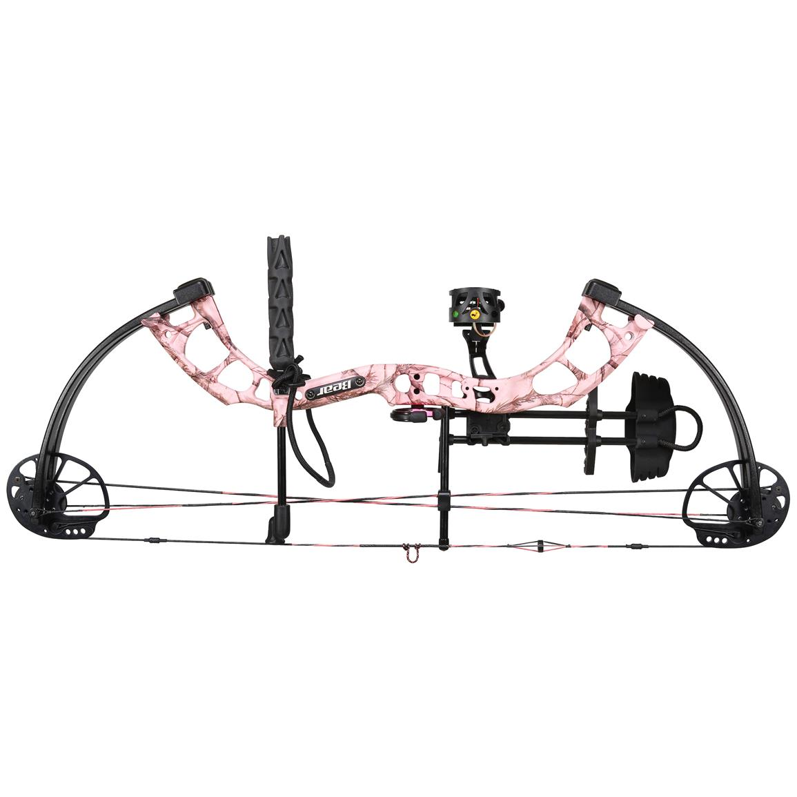 Bear Archery Cruzer Ready to Hunt Compound Bow, Realtree AP Pink
