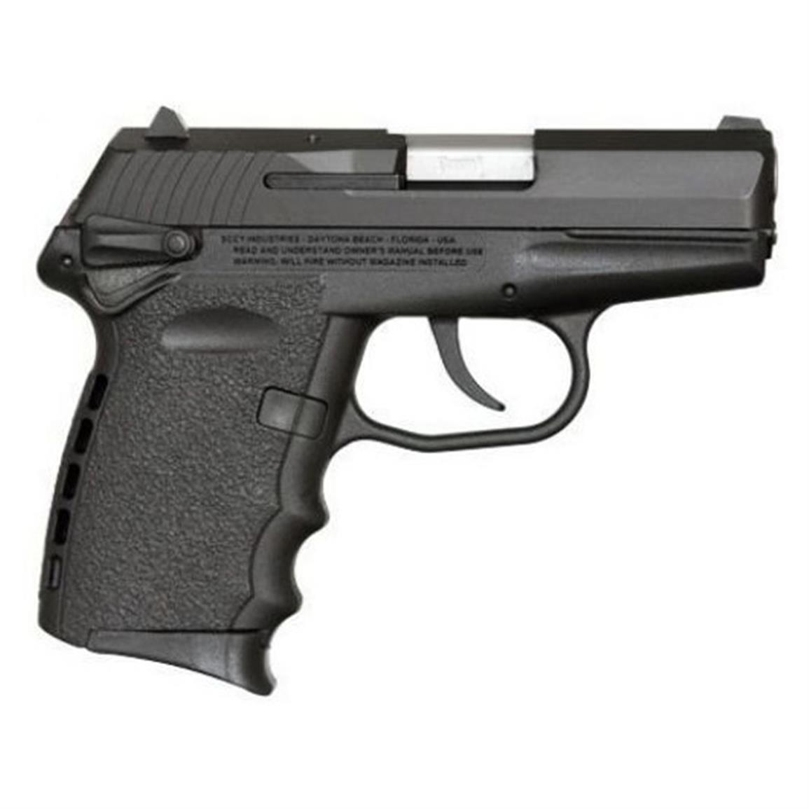 "SCCY CPX-1, Semi-automatic, 9mm, CPX1CB, 857679003005, 3.1"" Barrel, Black Nitride Finish"