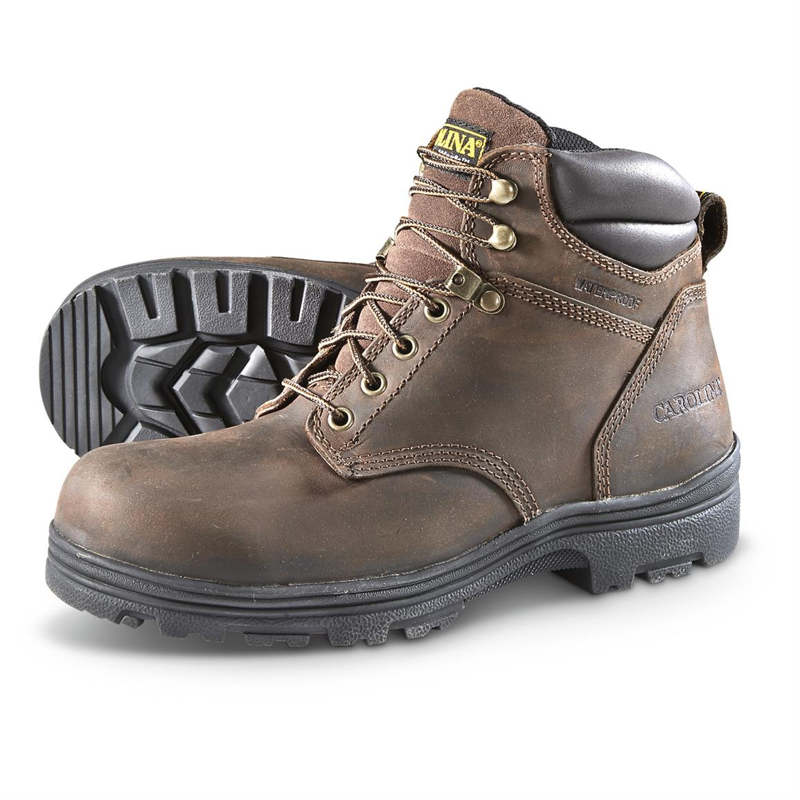 164bec6d2dc Carolina Men's Engineer Waterproof Work Boots