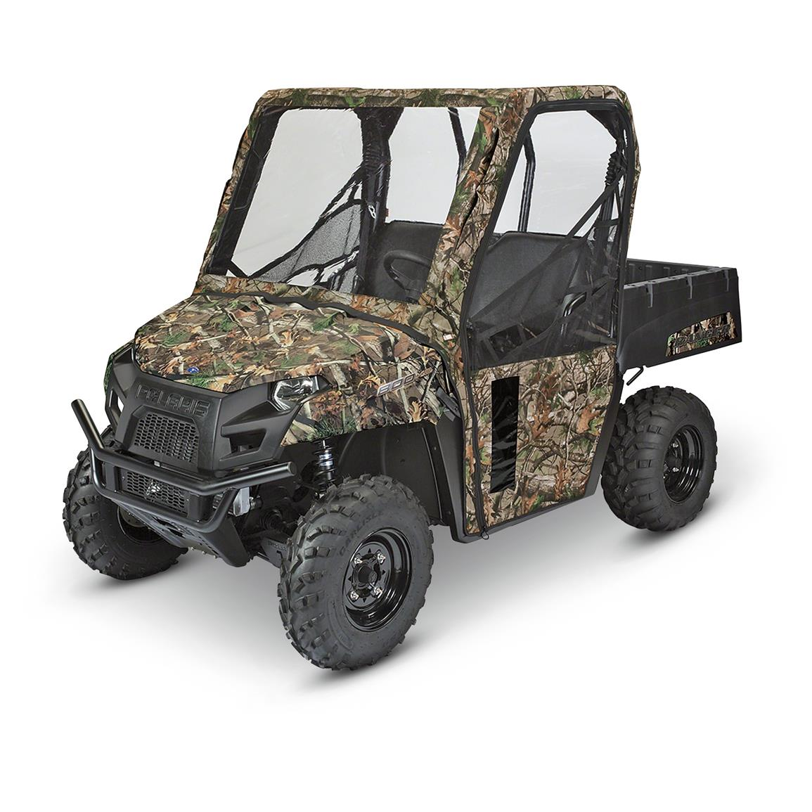 Quad Gear UTV Cab Enclosure, Kawasaki Mule 4000 Series, Next Camo