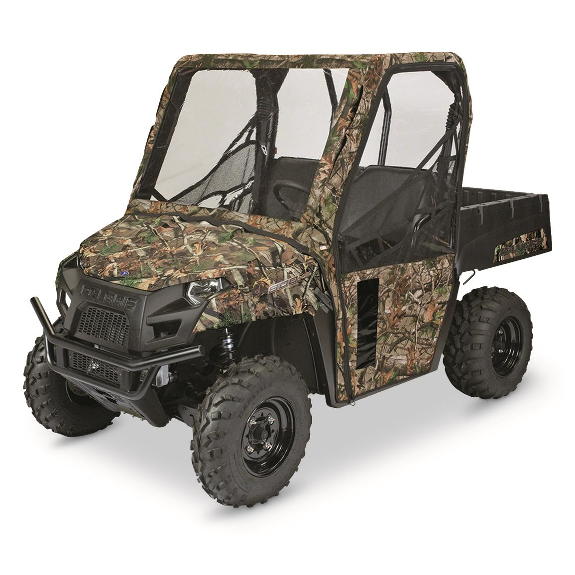Quad Gear UTV Cab Enclosure, Kawasaki Mule 600 Series, Next Camo