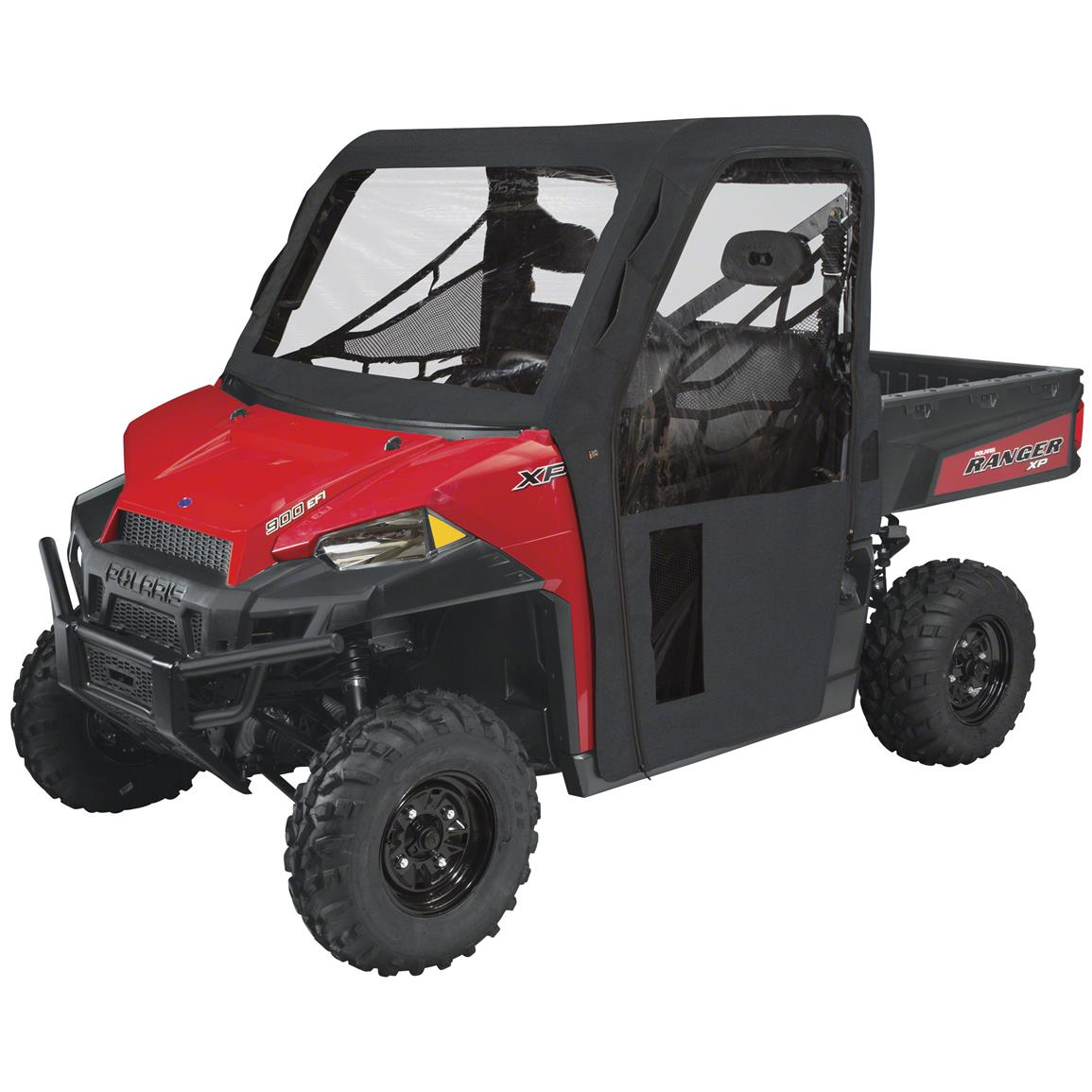Quad Gear UTV Cab Enclosure, Polaris Ranger 900 XP, Black