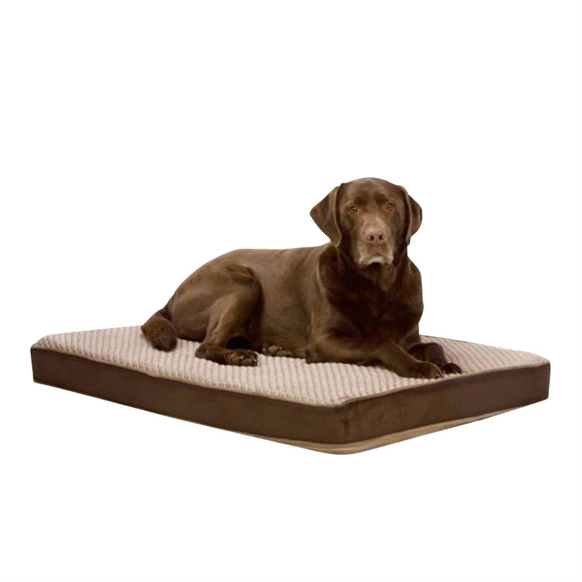 Self-Cooling Dog Bed, Brown