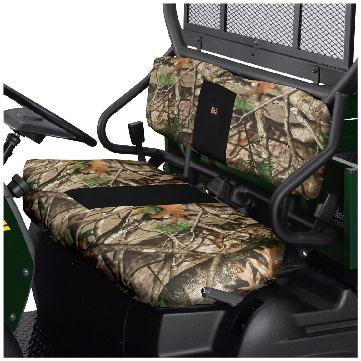 Quad Gear UTV Bench Seat Cover, Kawasaki Mule 4000 Series, Next Camo