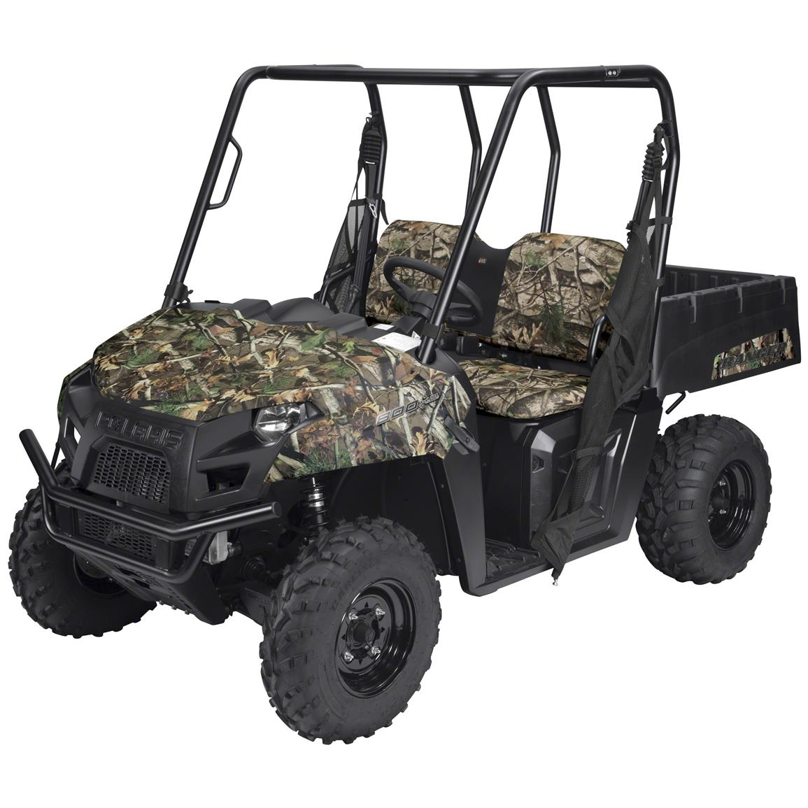 Quad Gear UTV Bench Seat Cover, Polaris Ranger Full-size 800 and 900 Series, Next Camo