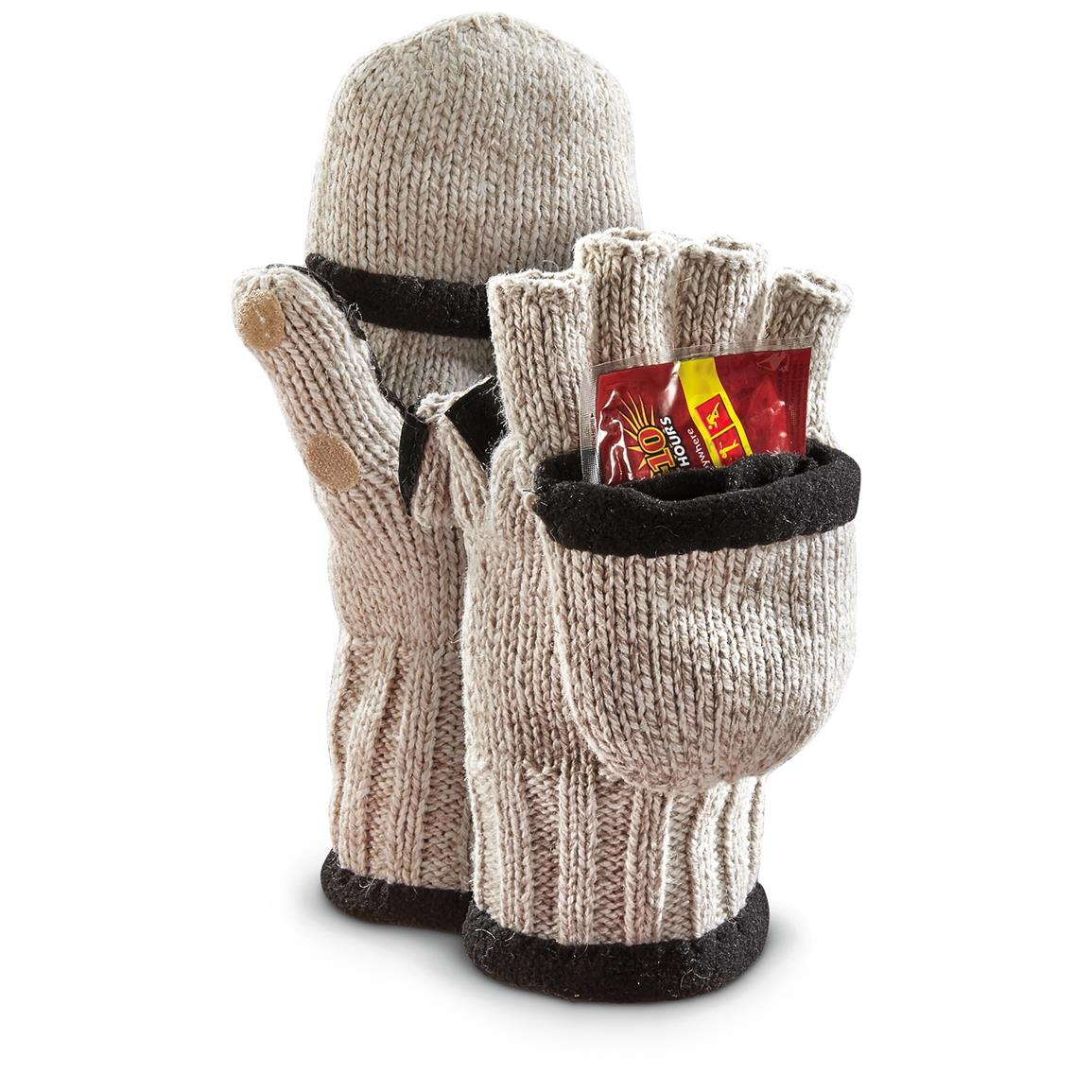Includes a pair of warming packets to get your hands cozy right out of the box!