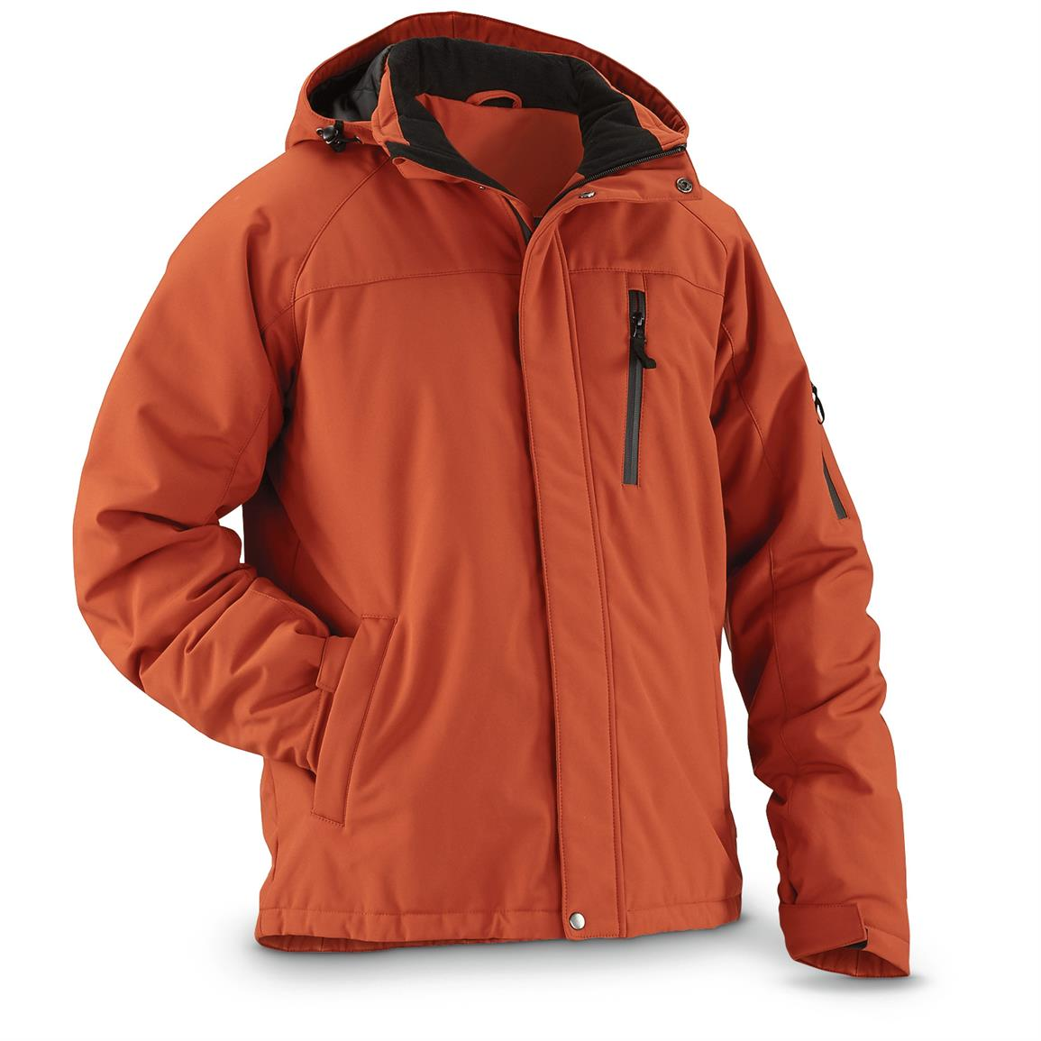 Guide Gear Men's Siberian Jacket, Terra Cotta