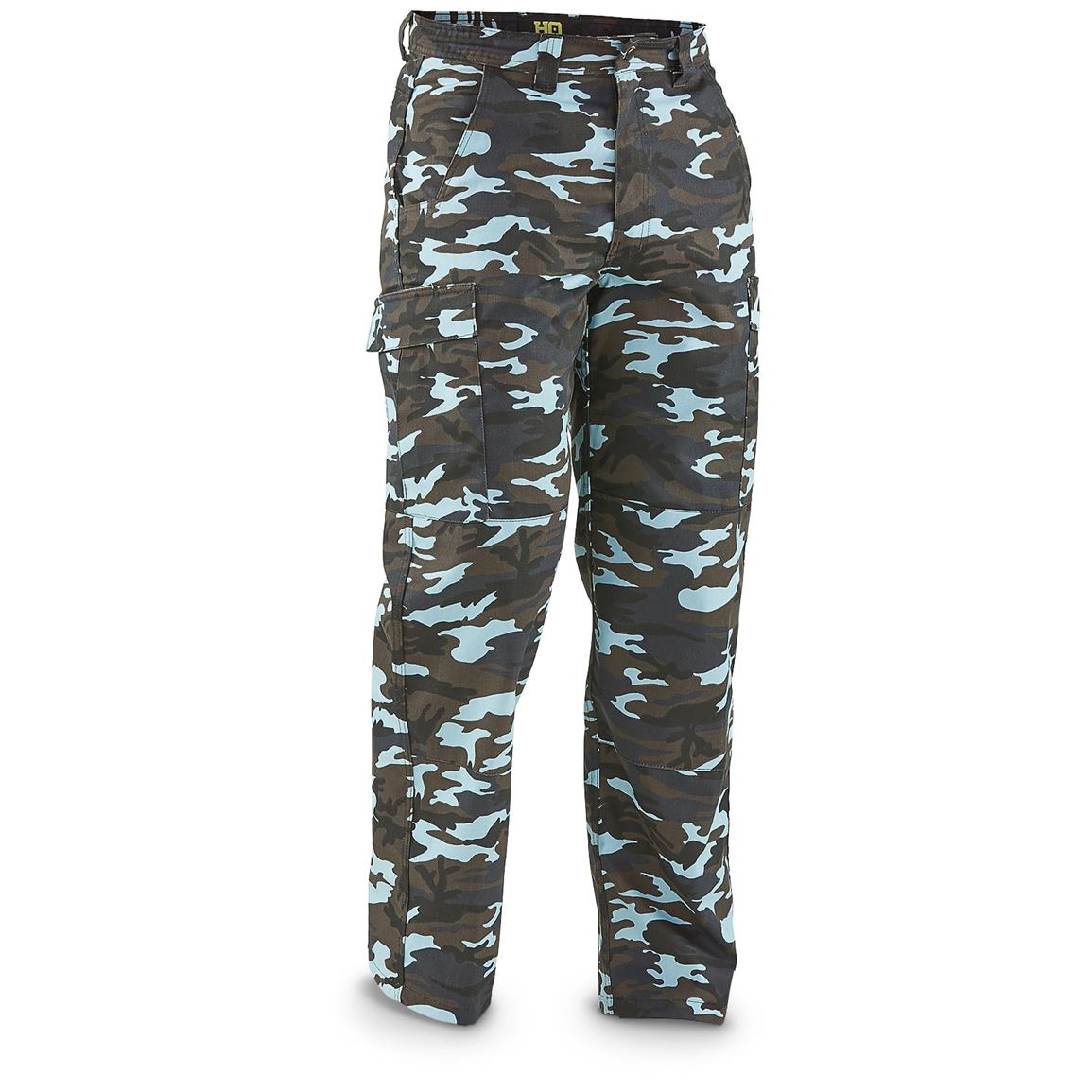 HQ ISSUE BDU Style Tactical Cargo Pants