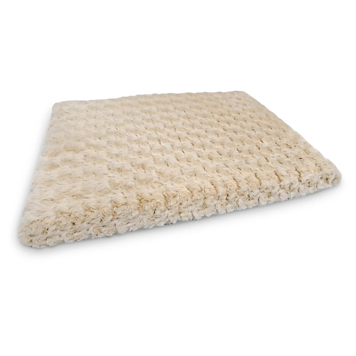 Tobey Orthopedic Memory Foam Pet Bed, Cream