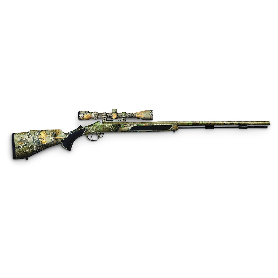 Traditions Vortek StrikerFire LDR .50 cal. Black Powder Rifle with Scope, Realtree Xtra