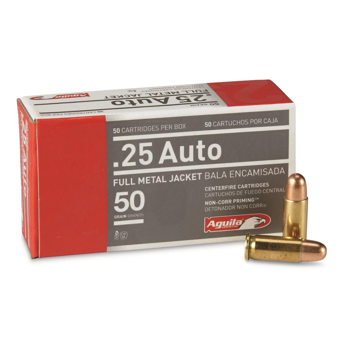 Aguila Ammo, 9mm+P, FMJ, 115 Grain, 50 Rounds
