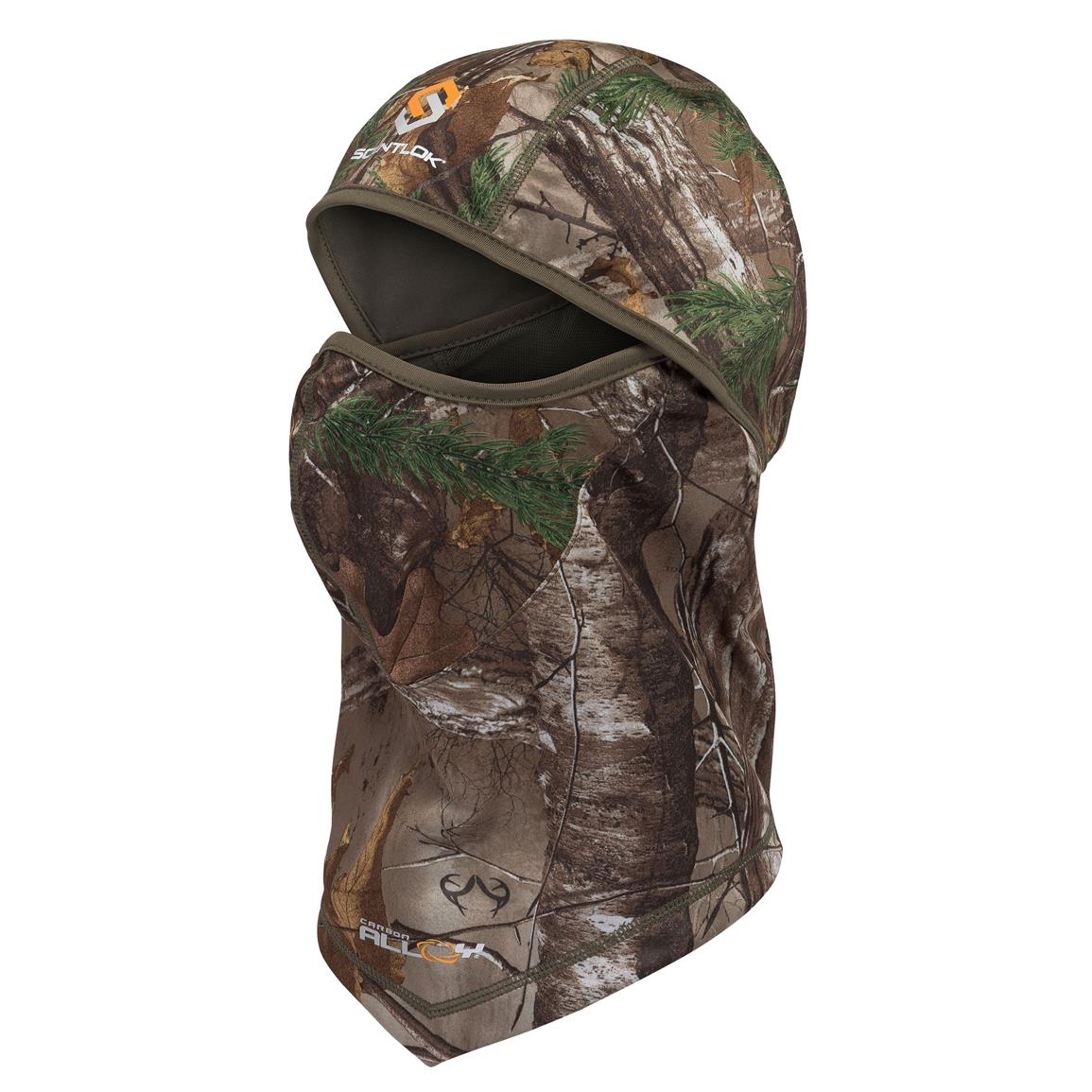 Scentlok Savanna Lightweight Head Cover, Realtree Xtra