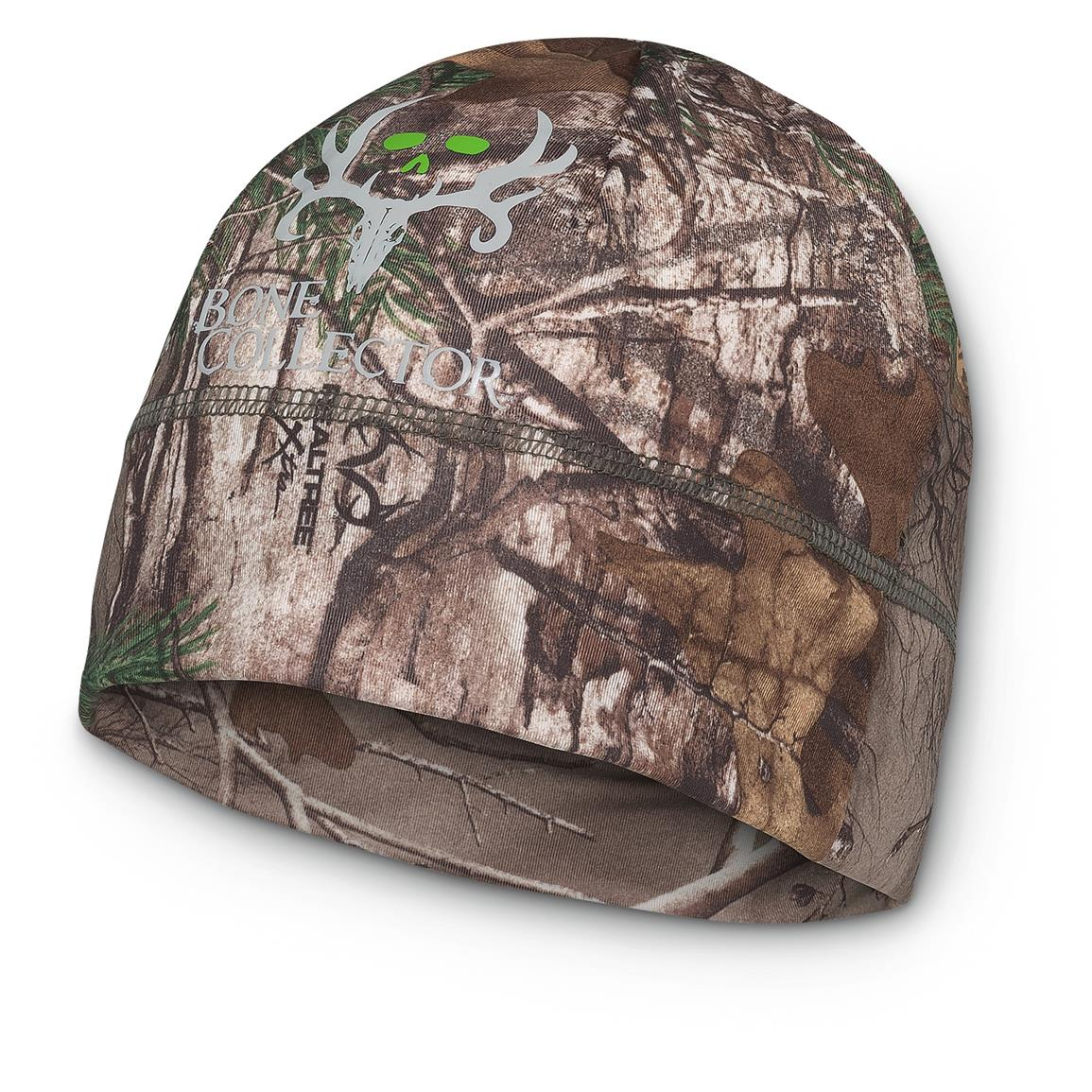 Bone Collector Outfitter Hunting Beanie Hat, Realtree Xtra