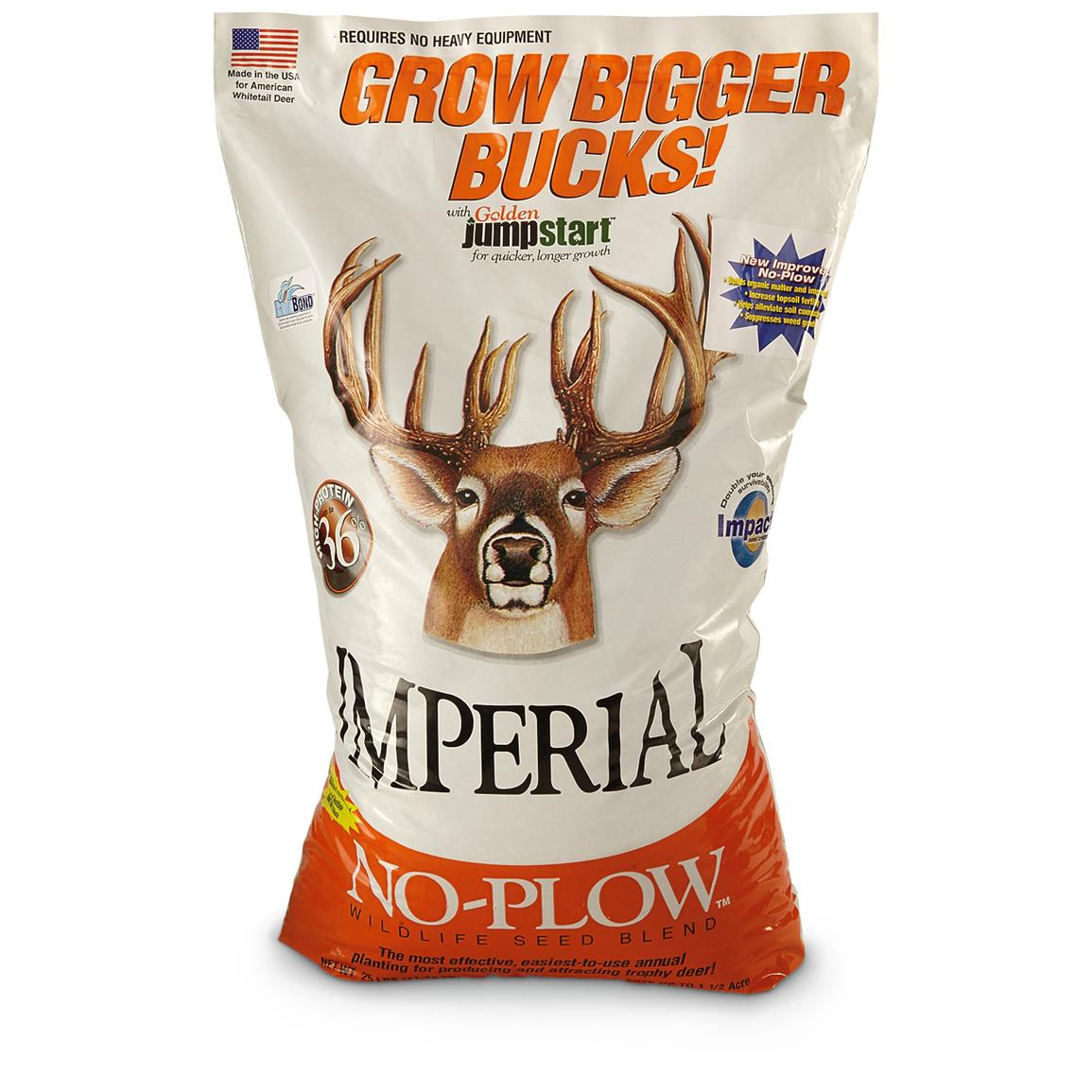Whitetail Institute No-Plow Seed Blend, 25 lbs.
