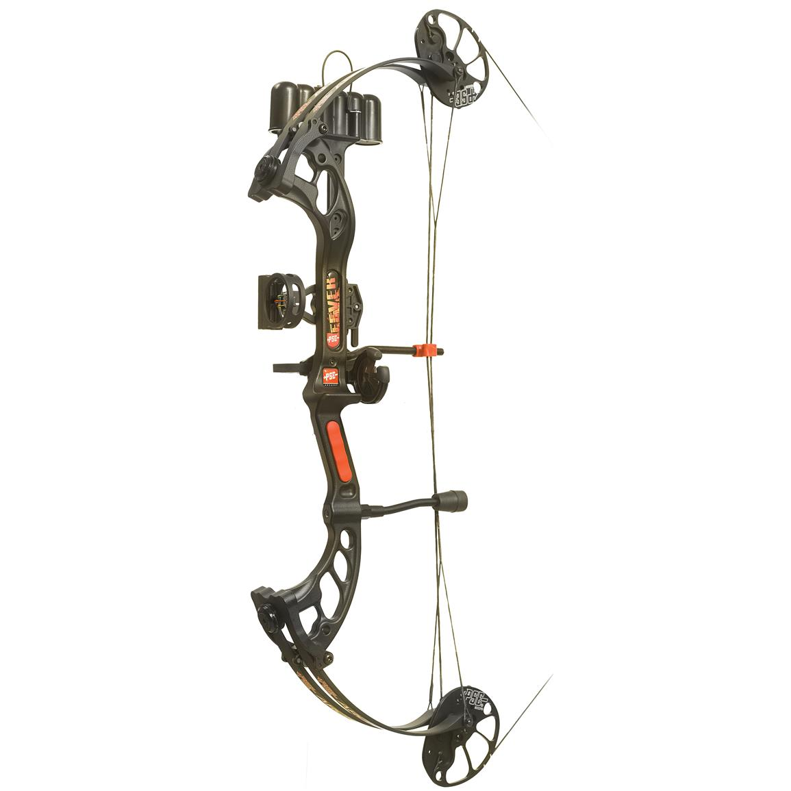 PSE Fever Youth Ready to Shoot Compound Bow, Black