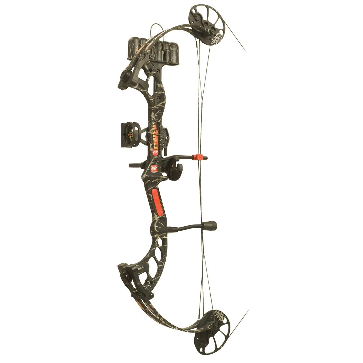PSE Fever Youth Ready to Shoot Compound Bow, Skullworks
