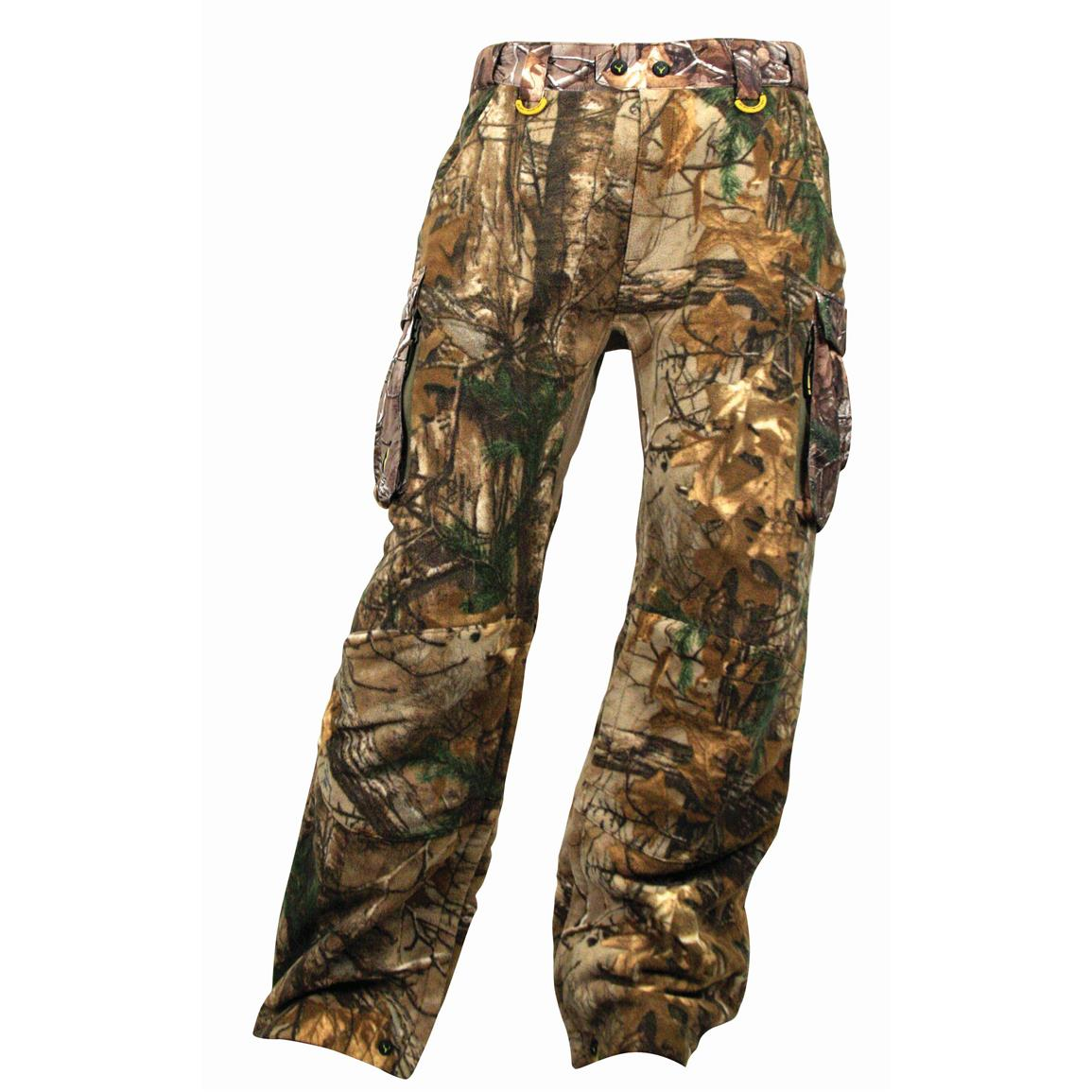 ScentBlocker Alpha Pants with Windbrake Technology , Xtra