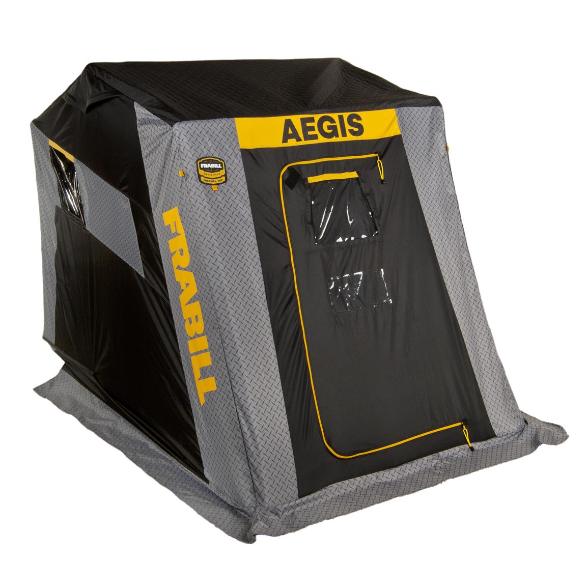 Frabill Aegis 2110 Ice Shelter, Insulated, Flip Over, 2 Person
