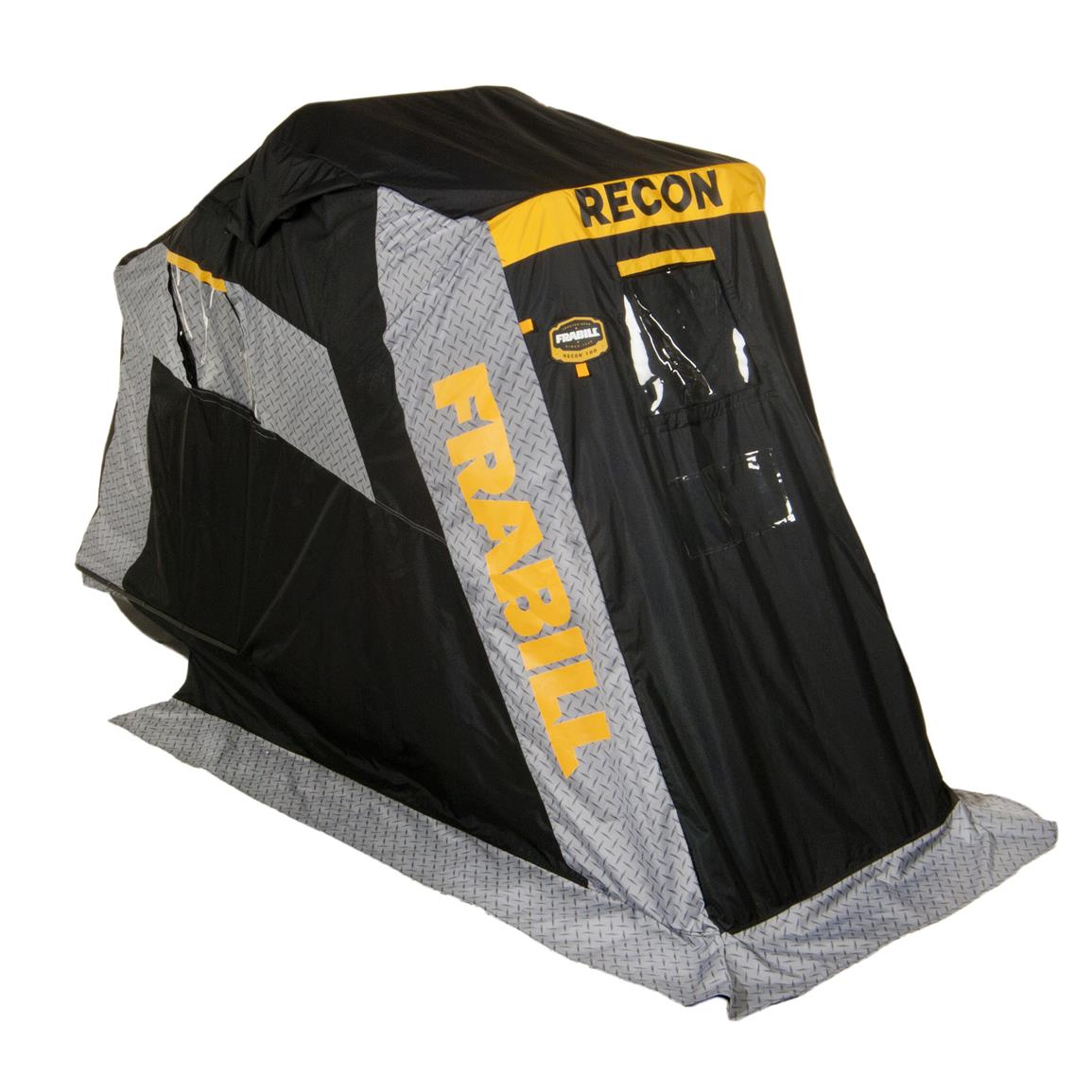 Frabill Recon 100 Ice Shelter, Flip Over, Single Person