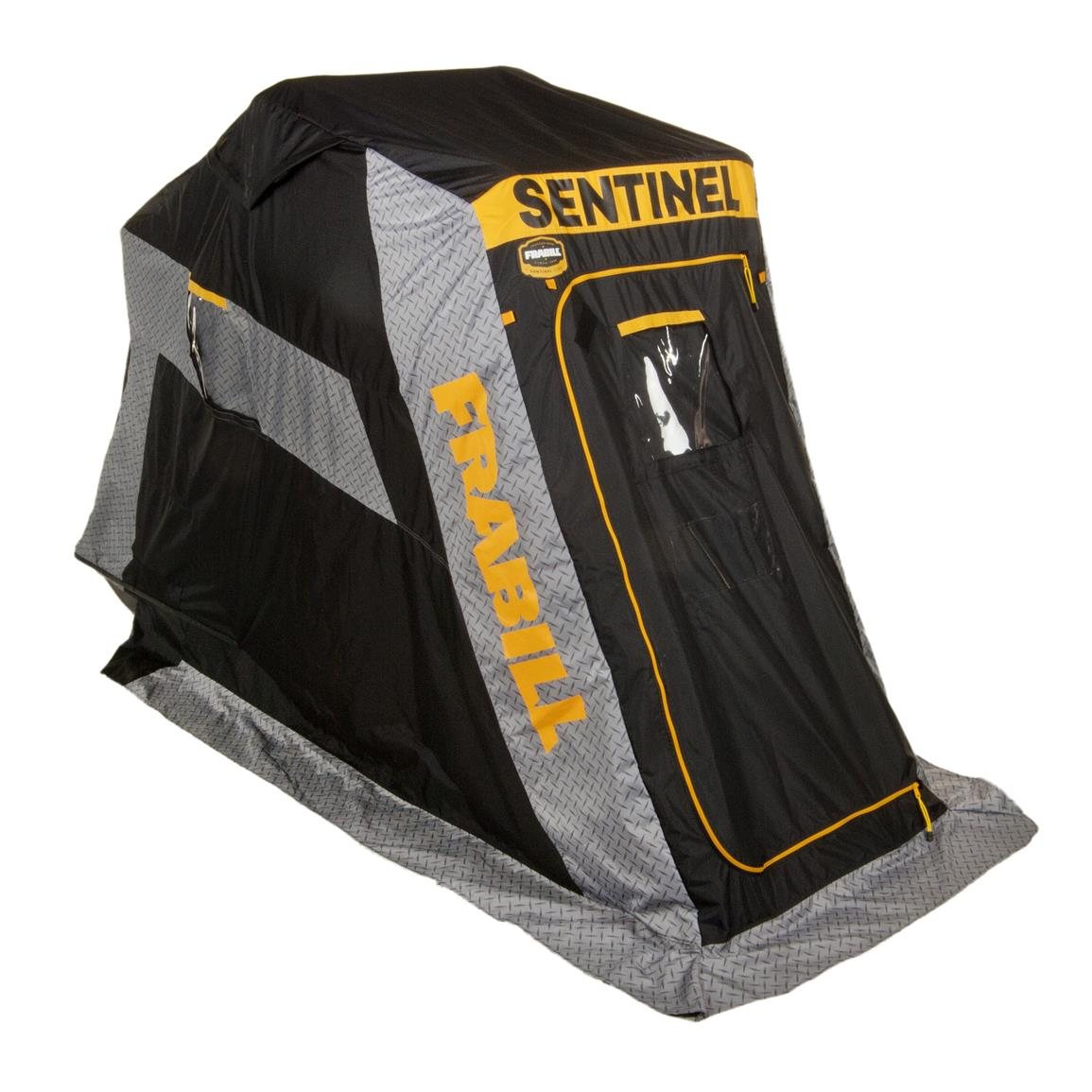 Frabill Sentinel 1000 Ice Shelter, Flip Over, Single Person