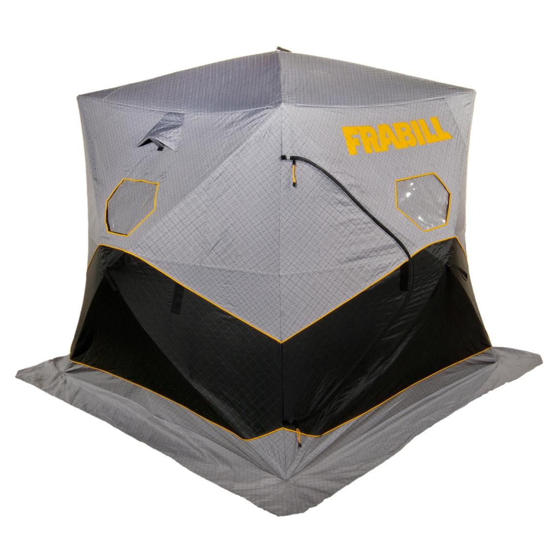 Frabill Bunker 210 Ice Shelter, Insulated, Hub Style, 2-3 Person