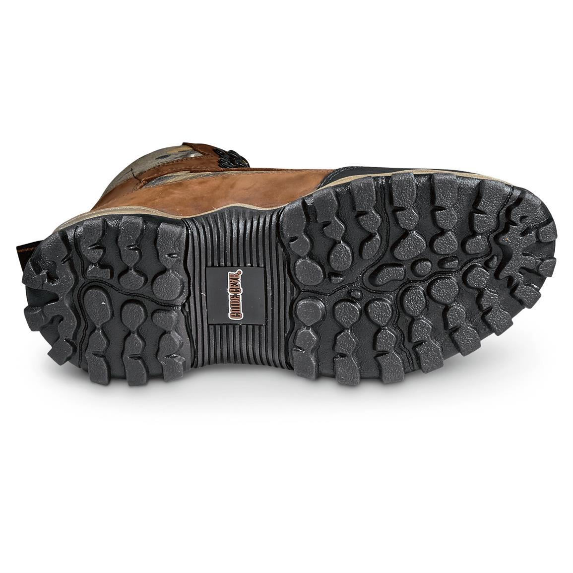 Rugged sure-grip outsole